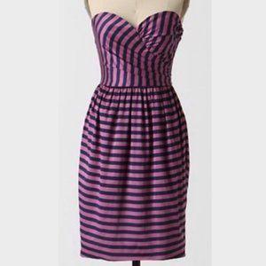 Anthropologie Corey Lynn Calter Dress 6 Pink Blue